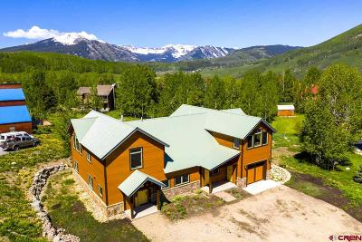 Mt. Crested Butte Single Family Home For Sale: 25 Cinnamon Mountain Road