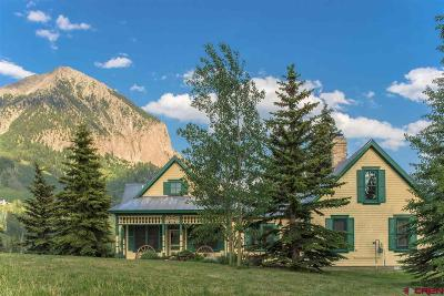 Crested Butte Single Family Home For Sale: 1472 Gothic Road
