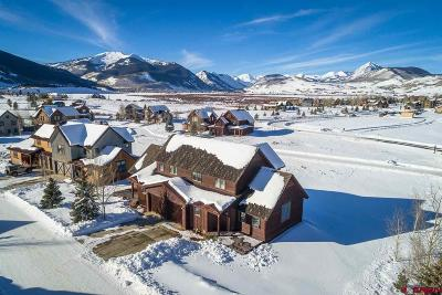 Crested Butte Condo/Townhouse For Sale: 11 Alpine Court #East