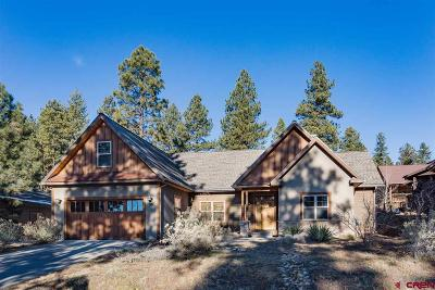 Durango Single Family Home For Sale: 95 Clear Creek Loop