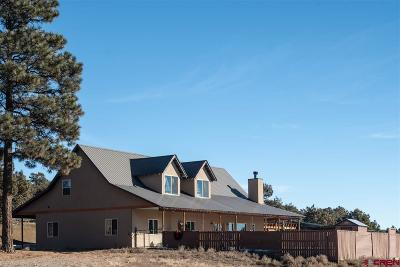 Durango Single Family Home For Sale: 44 Red Rooster