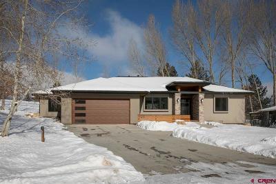Durango Single Family Home For Sale: 123 Linda Court
