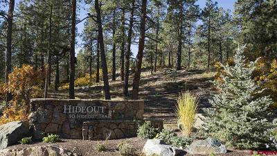 Durango Residential Lots & Land For Sale: Ambush Canyon