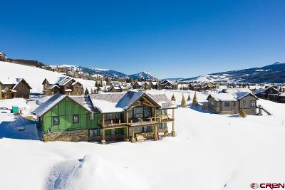 Crested Butte Single Family Home For Sale: 63 Wapiti Way