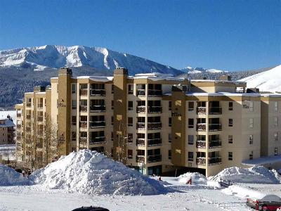 Mt. Crested Butte Condo/Townhouse For Sale: 11 Snowmass Road #133