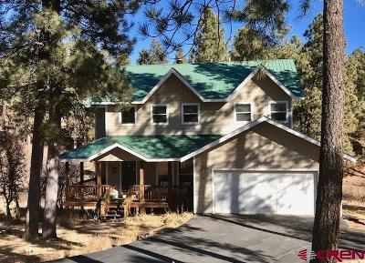Durango CO Single Family Home For Sale: $649,000