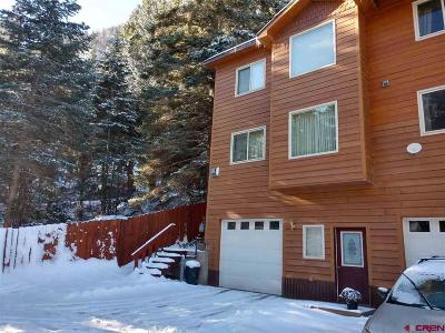 Ouray Condo/Townhouse For Sale: 1540 S Hinkson Terrace