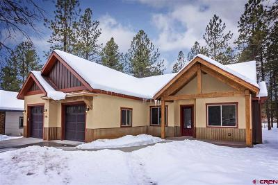 Durango CO Single Family Home For Sale: $569,900