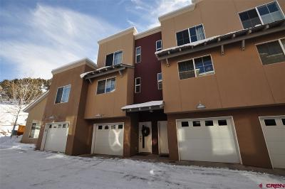 Durango CO Condo/Townhouse NEW: $310,000