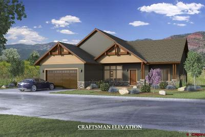 Durango CO Single Family Home UC/Contingent/Call LB: $558,675