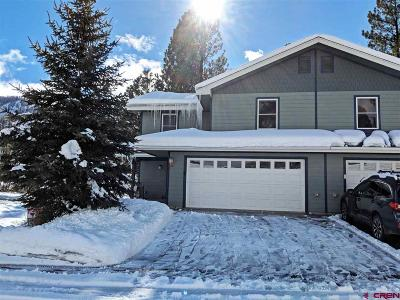 Durango CO Condo/Townhouse NEW: $479,000
