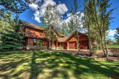 Durango CO Single Family Home For Sale: $1,450,000