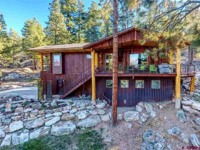 Durango CO Single Family Home For Sale: $779,875