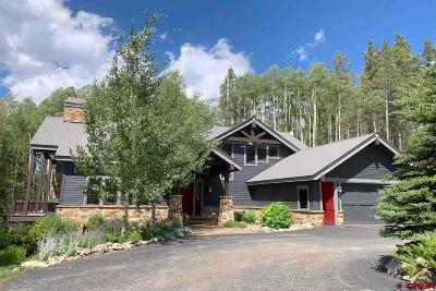 Crested Butte Single Family Home For Sale: 2074 Wildcat Trail