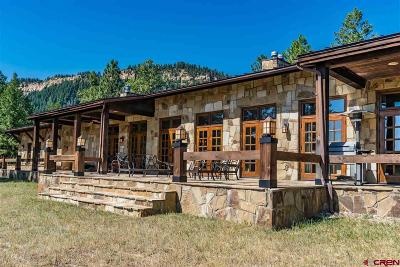 Pagosa Springs CO Farm For Sale: $1,395,000