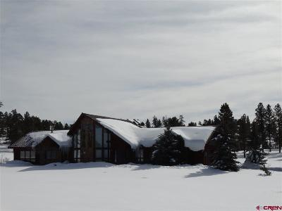 Pagosa Springs Single Family Home For Sale: 61 Sage Circle