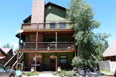 Crested Butte Condo/Townhouse UC/Contingent/Call LB: 421 Whiterock Avenue #1