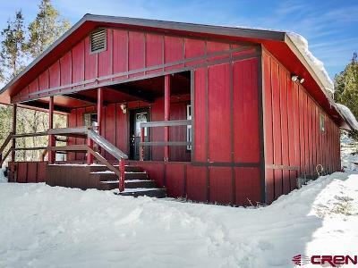 Ignacio Single Family Home For Sale: 192 Deer Park