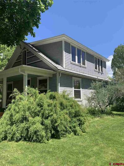 Paonia Single Family Home For Sale: 315 Box Elder Avenue