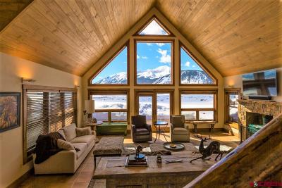 Crested Butte Single Family Home For Sale: 9 Moon Ridge Lane