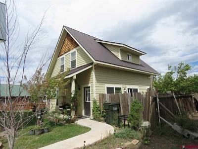 Pagosa Springs Single Family Home For Sale: 452 S 7th Street