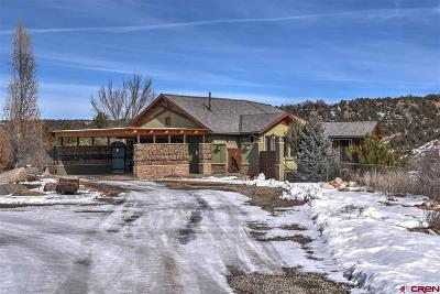 Durango Single Family Home UC/Contingent/Call LB: 1 River Rim Road