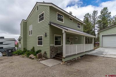 Pagosa Springs Single Family Home For Sale: 472 Monument