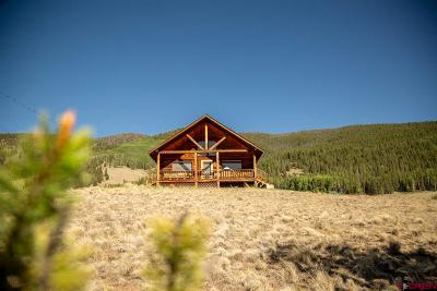 Creede Single Family Home For Sale: 1263 Whiskey Lane