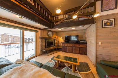 Mt. Crested Butte Condo/Townhouse For Sale: 721 Gothic Road #B 4