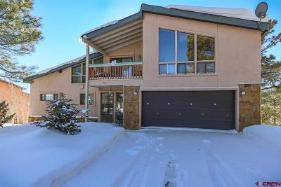 Pagosa Springs Single Family Home For Sale: 537 Handicap Avenue