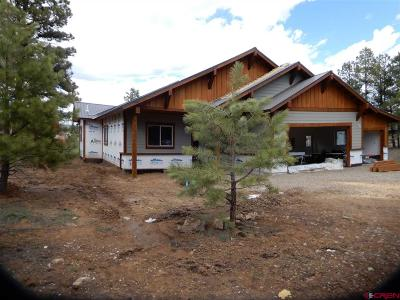 Pagosa Springs Single Family Home For Sale: 38 Ripple Court
