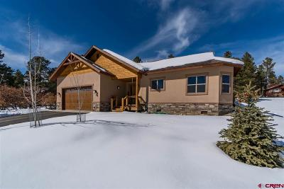 Pagosa Springs Single Family Home For Sale: 64 Juniper Court