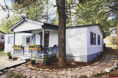 Durango Mobile/Manufactured For Sale: 41 Moss Road Trail