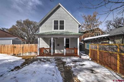 Durango Single Family Home UC/Contingent/Call LB: 663 E 7th Avenue