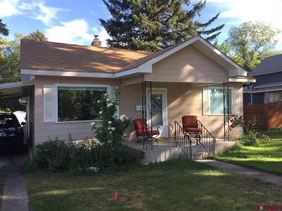 Montrose Single Family Home NEW: 1213 S 3rd Street