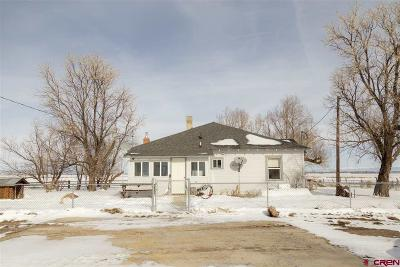 Monte Vista Single Family Home UC/Contingent/Call LB: 1006 E County Rd 2s Road
