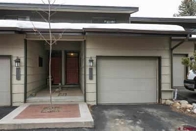 Durango CO Condo/Townhouse NEW: $275,000