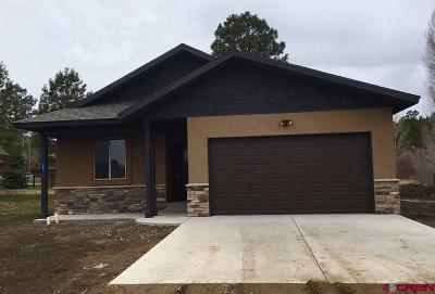 Pagosa Springs Single Family Home UC/Contingent/Call LB: 182 Carefree Place