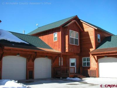 Pagosa Springs Condo/Townhouse For Sale: 620 Lakeside Drive #11