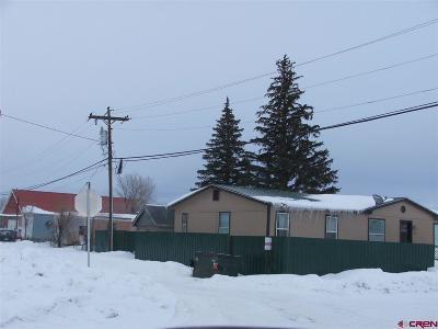 Gunnison Residential Lots & Land UC/Contingent/Call LB: 404 W Rio Grande Avenue
