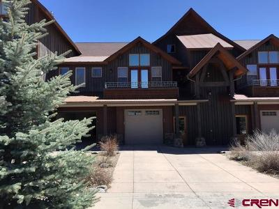Pagosa Springs Condo/Townhouse For Sale: 502 S 5th Street #Unit B-6