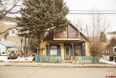 Creede Single Family Home UC/Contingent/Call LB: 280 S Main Street