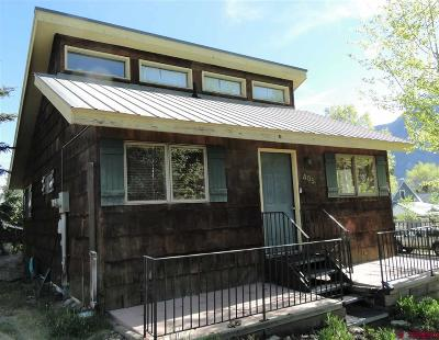 Crested Butte Single Family Home Back on Market: 405 Fifth Street #C