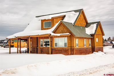 Pagosa Springs Single Family Home UC/Contingent/Call LB: 16 Point Pl.