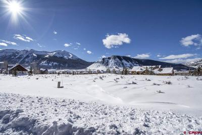 Crested Butte Residential Lots & Land For Sale: 143 E Silver Sage Drive