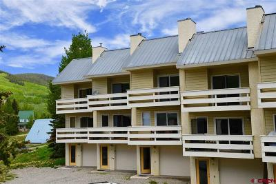 Mt. Crested Butte Condo/Townhouse For Sale: 710 Gothic Road #3