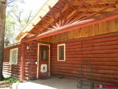 South Fork Single Family Home For Sale: 13046 Hwy 149 Cabin #3 #Cabin #3