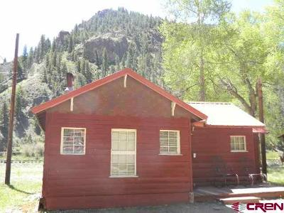 Creede Single Family Home For Sale: 13046 Hwy 149 #Cabin# 1