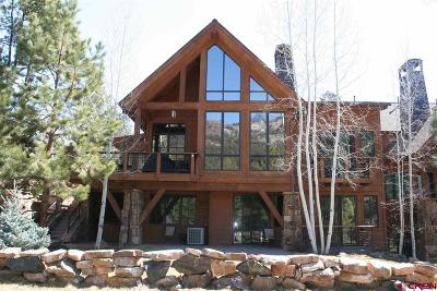 Durango Condo/Townhouse For Sale: 665 Glacier Club Drive #Showdown