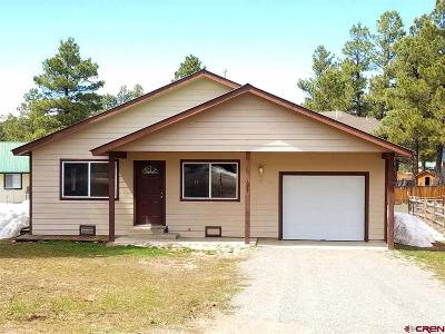 Pagosa Springs Single Family Home For Sale: 392 Pines